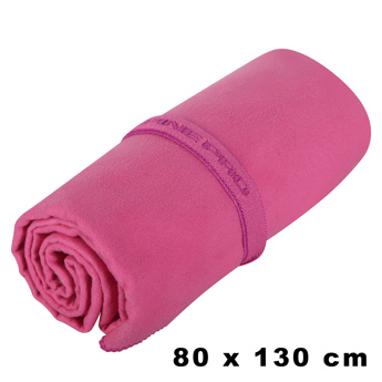 RYCHLESCHNOUCÍ RUČNÍK PINK OUTDOOROVÝ RUČNÍK pink